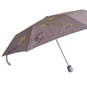 Avon Ladies Lavender Floral Umbrella